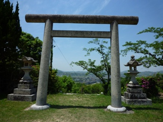 護国神社.鳥居