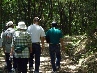 菖蒲園への道3