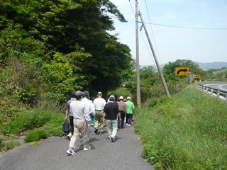 物見山への旧道1