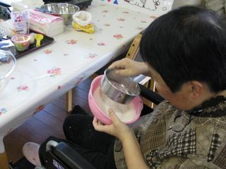 練乳蒸しパン①.JPG